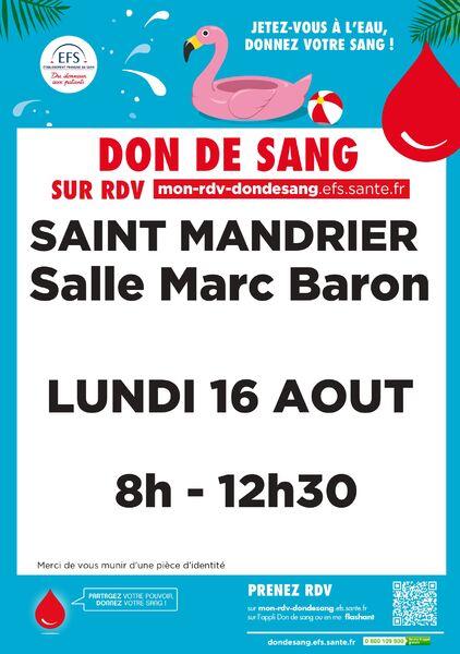 Blood collection à Saint-Mandrier-sur-Mer - 0