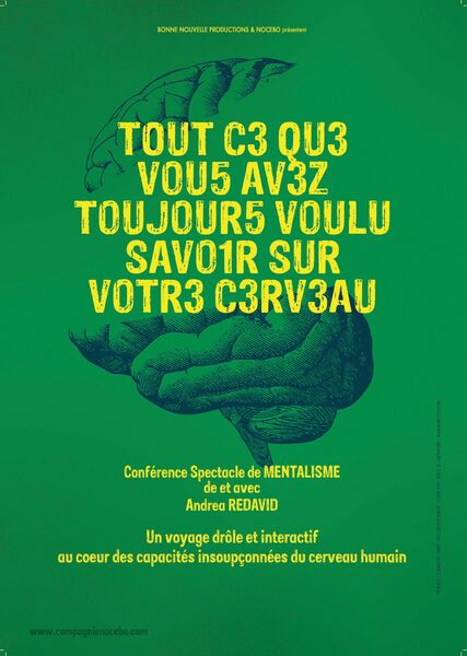 Conference and mentalism show by and with Andrea Redavid à Six-Fours-les-Plages - 0