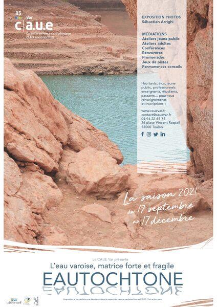 Exposition – Eautochtone, l'eau varoise, matrice forte et fragile – CAUE Var à Toulon - 0