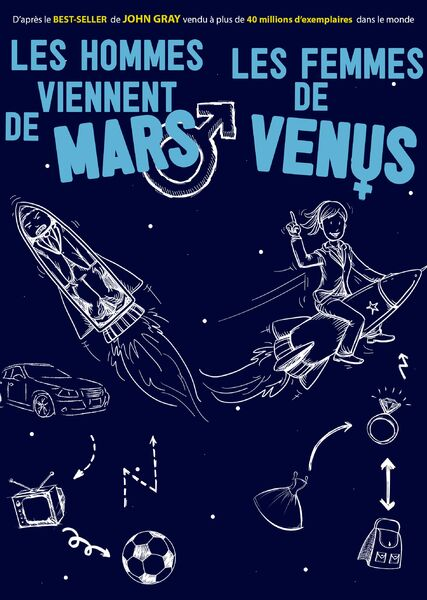 """Show """"Men are from Mars, women are from Venus"""" à Six-Fours-les-Plages - 0"""