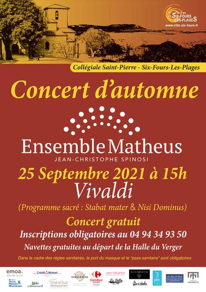 Autumn concert à Six-Fours-les-Plages - 0