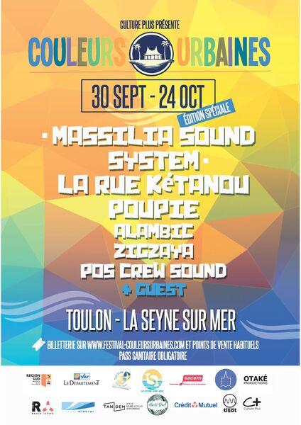 Festival Couleurs Urbaines Édition spéciale à Toulon - 0