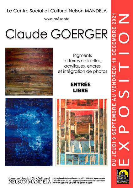 Exhibition Claude Goerger à La Seyne-sur-Mer - 0