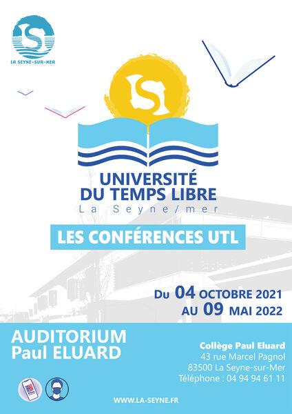"""Conference of the Université du Temps Libre : """"Pour en finir avec le mythe d'Albert Einstein à La Seyne-sur-Mer - 0"""