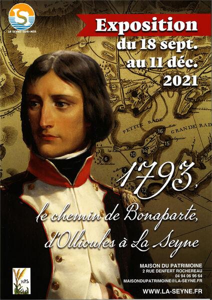 """Exhibition """"1793: Bonaparte's path, from Ollioules to La Seyne à La Seyne-sur-Mer - 0"""