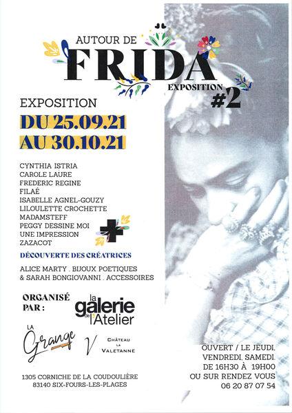 """Exhibition """"Around Frida"""" à Six-Fours-les-Plages - 0"""