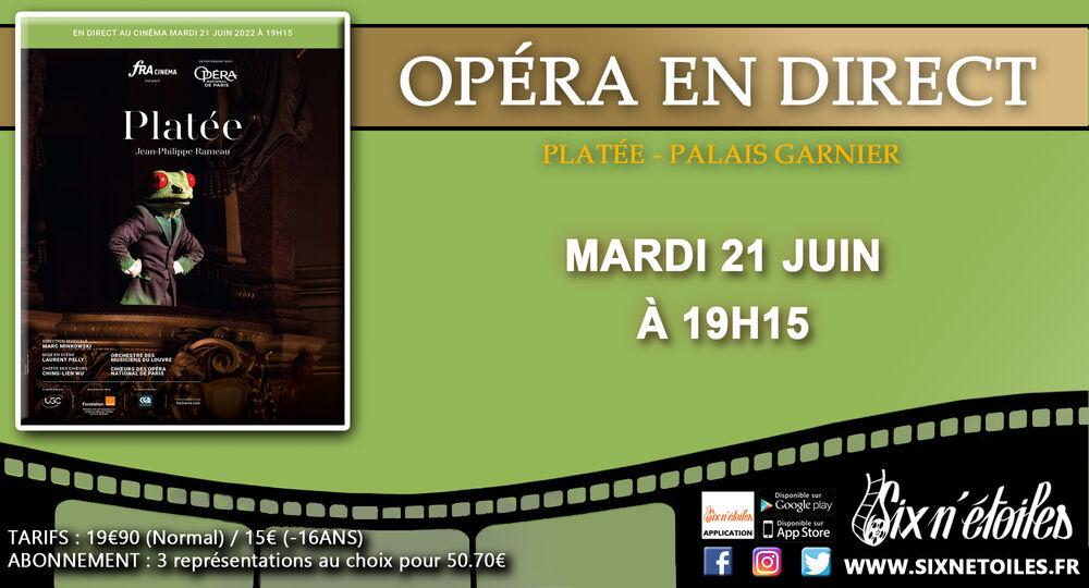 """Paris Opera at the Six n'étoiles """"Platée"""" à Six-Fours-les-Plages - 0"""