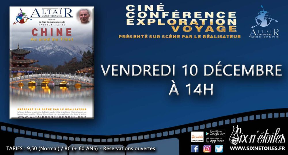 """Altaïr film conference """"China, at the foot of Tibet à Six-Fours-les-Plages - 0"""