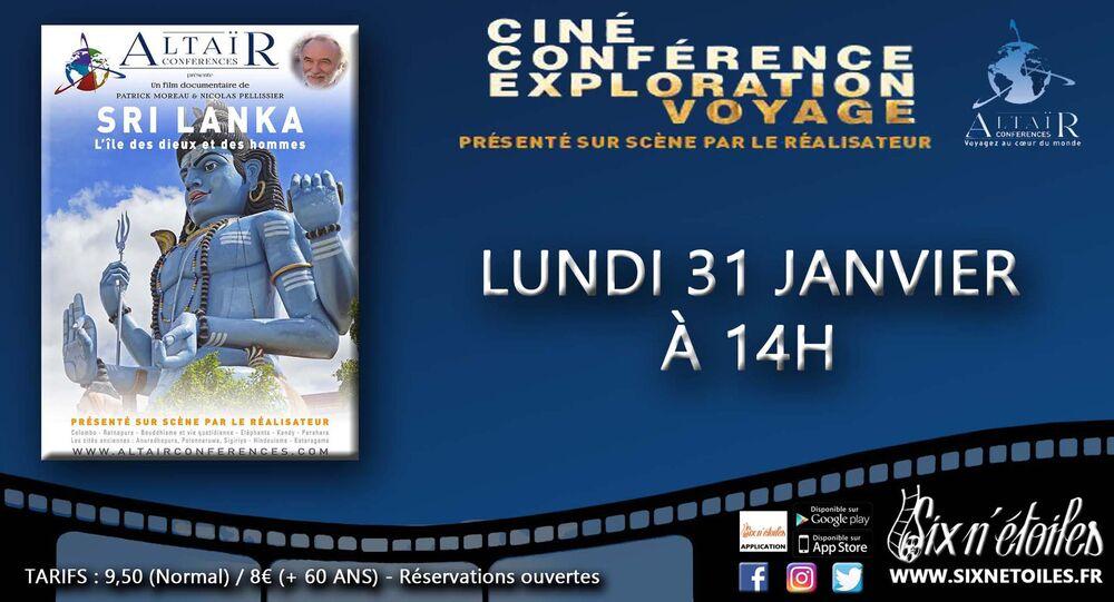 "Altaïr Film Conference ""Sri Lanka, Land of Gods and Men à Six-Fours-les-Plages - 0"