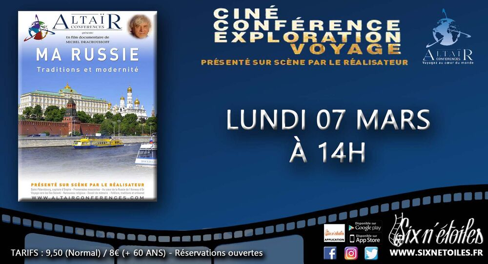 """Altaïr film conference """"My Russia – Traditions and Modernity"""" à Six-Fours-les-Plages - 0"""