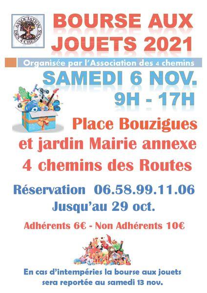 Bourse aux jouets Association des 4 Chemins à Toulon - 0
