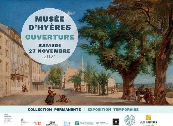 Inauguration of the La Banque culture and landscape museum à Hyères - 1