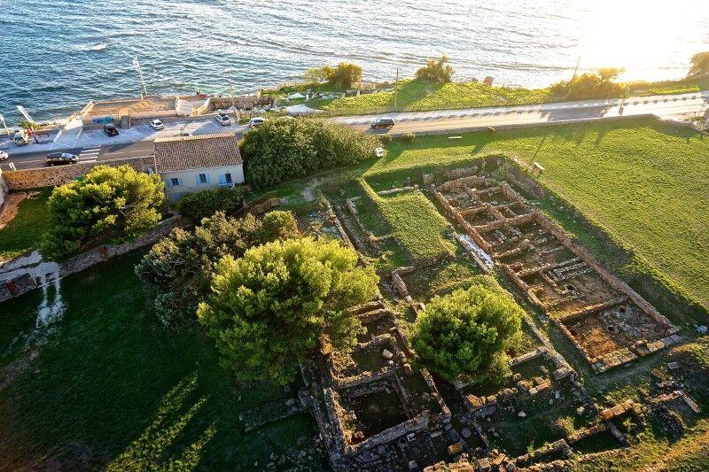 Olbia archaeological site visits à Hyères - 1