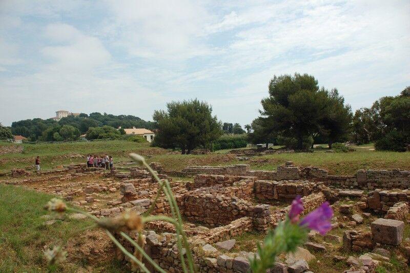Olbia archaeological site visits à Hyères - 2