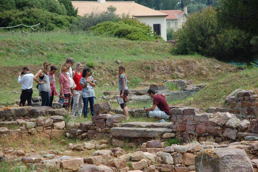Olbia archaeological site visits à Hyères - 3