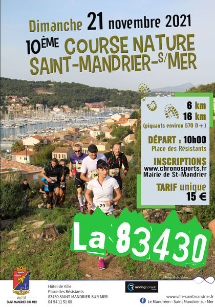 10th Nature Race of Saint Mandrier : the 83430 à Saint-Mandrier-sur-Mer - 0