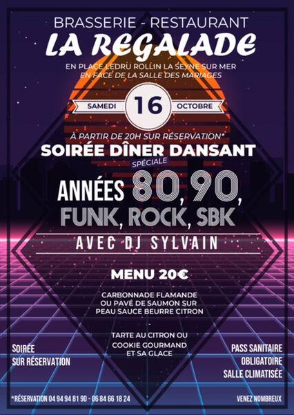 80's / 90's and SBK party with Dj Sylvain à La Seyne-sur-Mer - 0