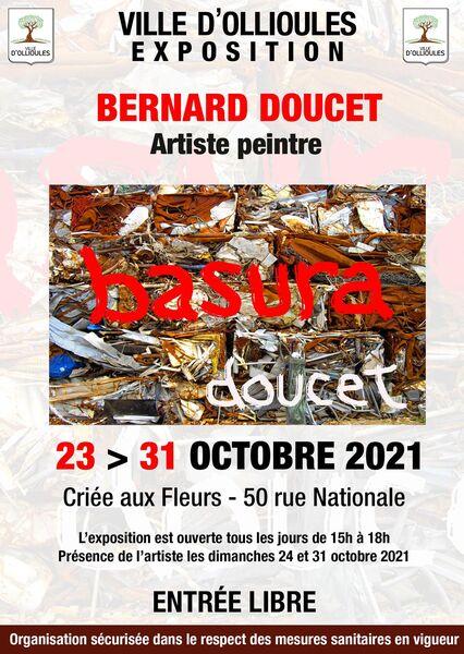 Exhibition of Bernard Doucet, painter à Ollioules - 0