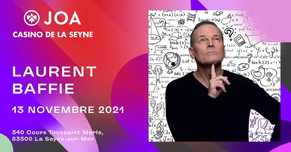 """Show """"Laurent Baffie se pose des questions"""" à La Seyne-sur-Mer - 0"""