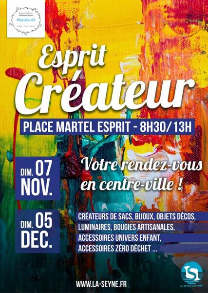 """Market """"Esprit Créateur"""" à La Seyne-sur-Mer - 0"""