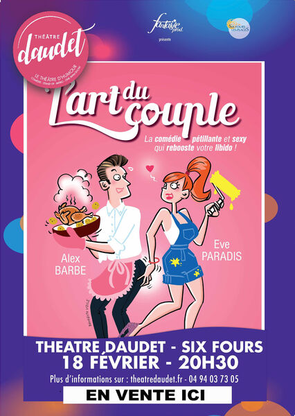 """Comedy """"L'art du couple"""" by and with Alexandre Barbe and Eve Paradis à Six-Fours-les-Plages - 0"""