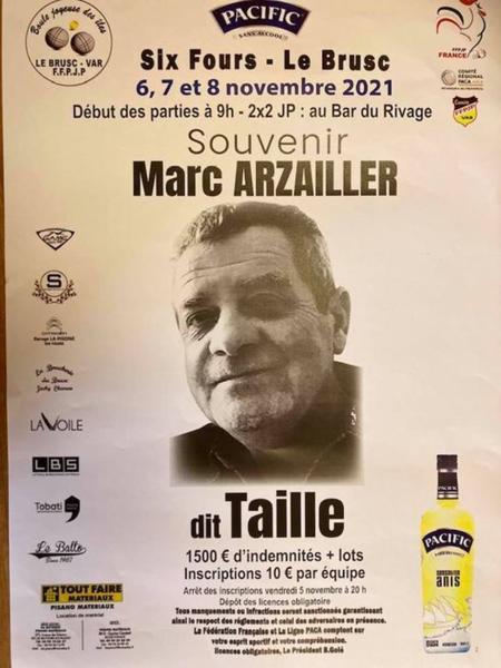 Jeu provençal : souvenir Marc Arzailler dit Taille à Six-Fours-les-Plages - 0