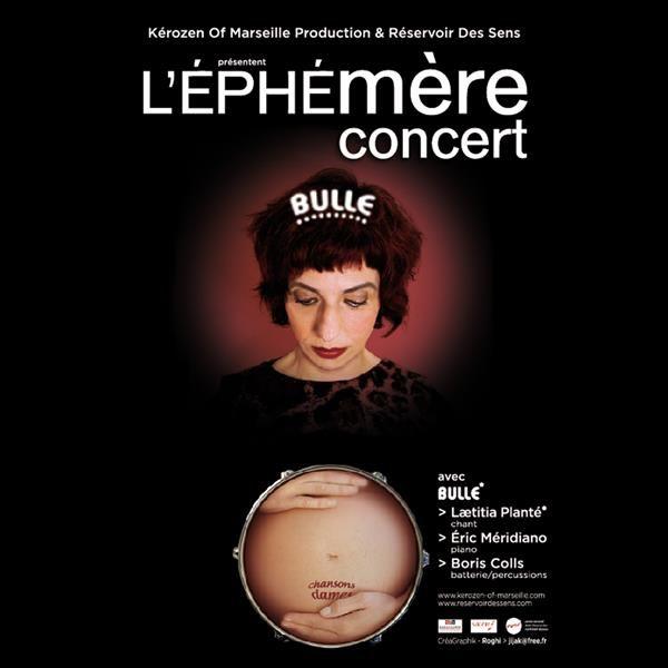 """Bulle """"L'Effet Mère Concert"""", chansons d'âmes à Toulon - 0"""