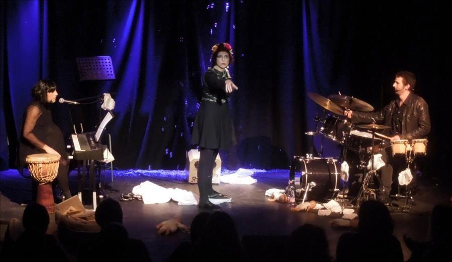 """Bulle """"L'Effet Mère Concert"""", chansons d'âmes à Toulon - 2"""