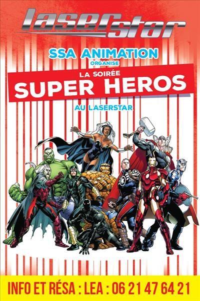 SOIREE SUPER HEROS à La Garde - 0