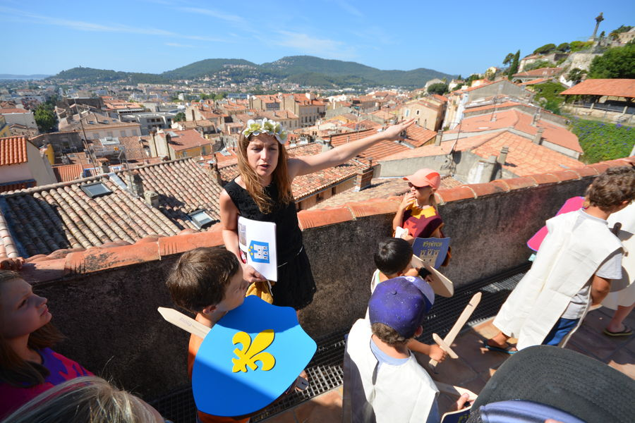 Looking for templar treasure (special children's guided tour) à Hyères - 5