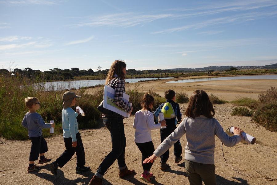 Salt marches history (guided tour for children) à Hyères - 5