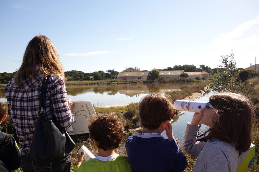 Salt marches history (guided tour for children) à Hyères - 6
