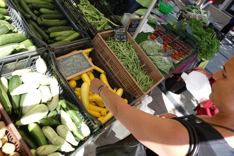 The salins 'Market à Hyères - 0