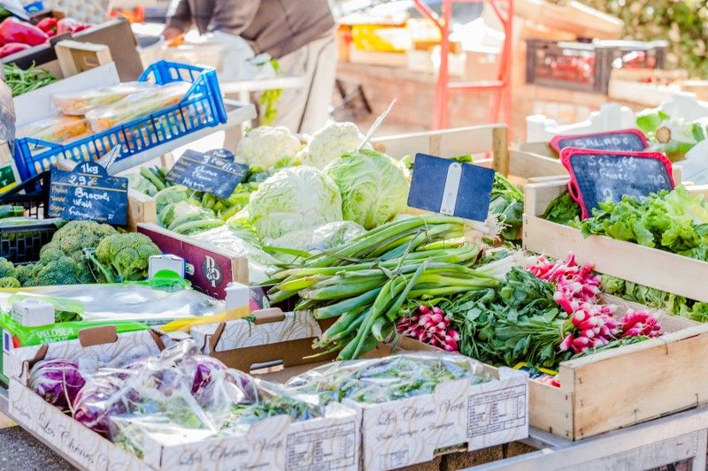 The big market of the golden islands à Hyères - 3
