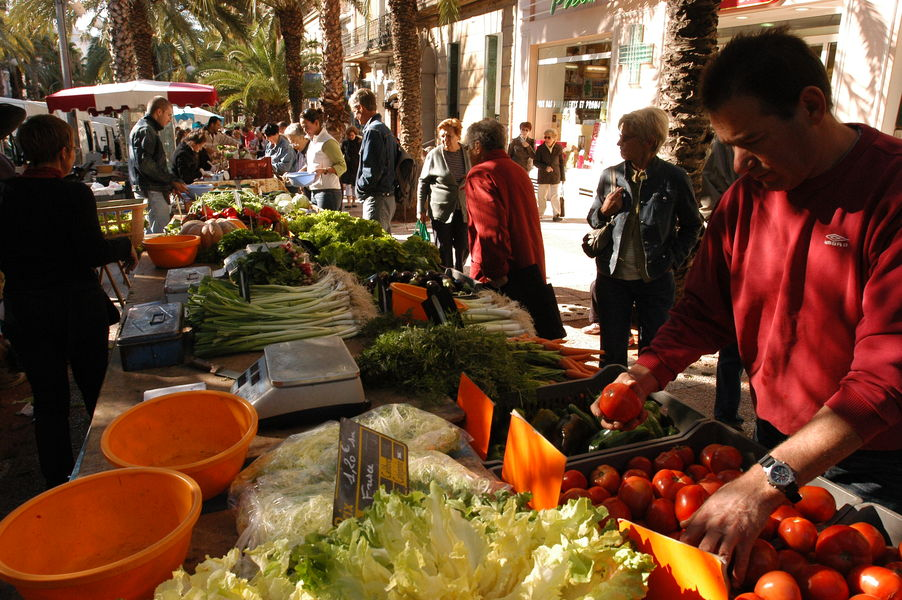 The big market of the golden islands à Hyères - 2