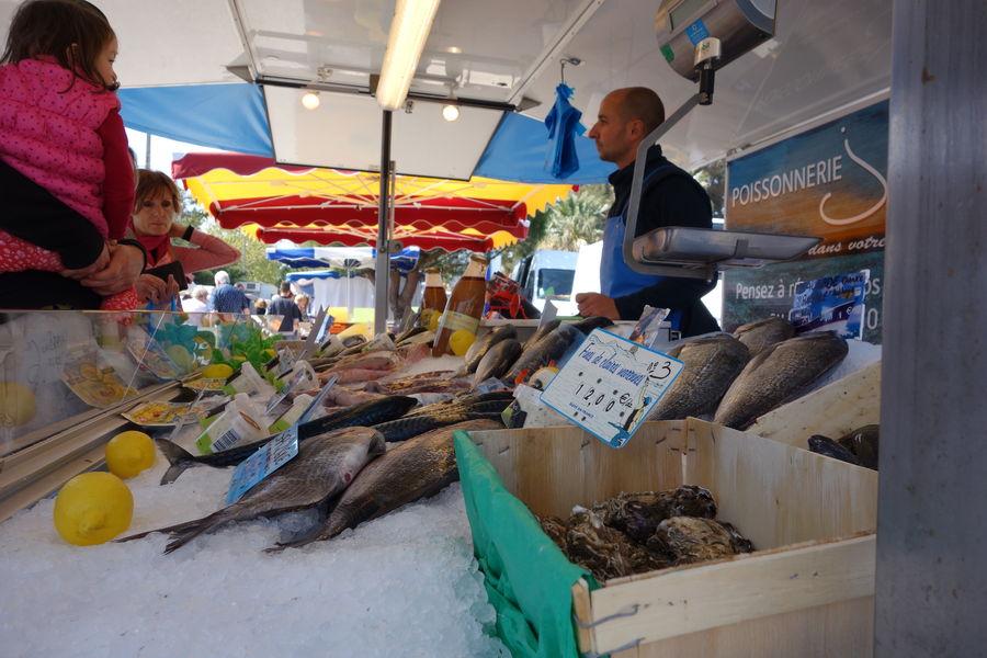 Ayguade Market à Hyères - 0