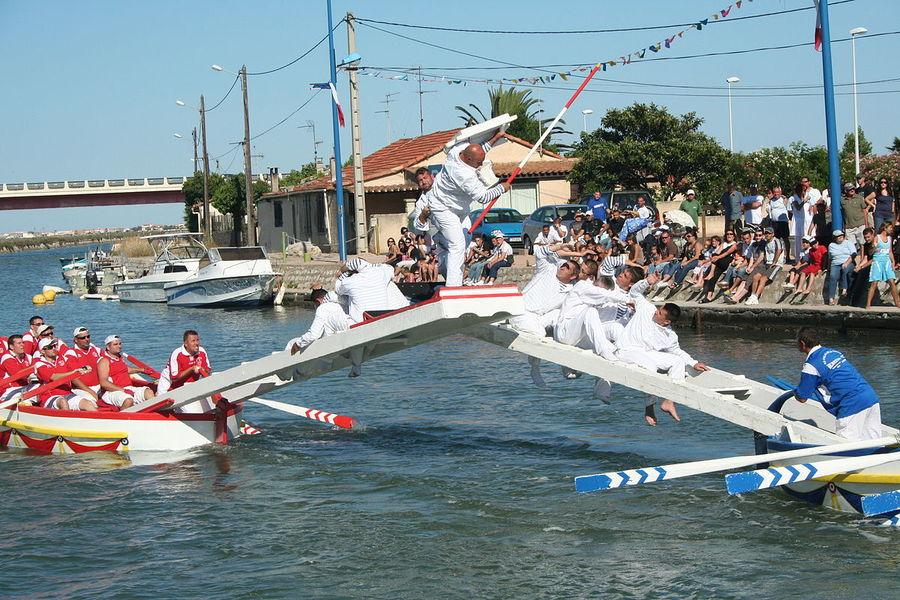 Water jousting à Hyères - 0