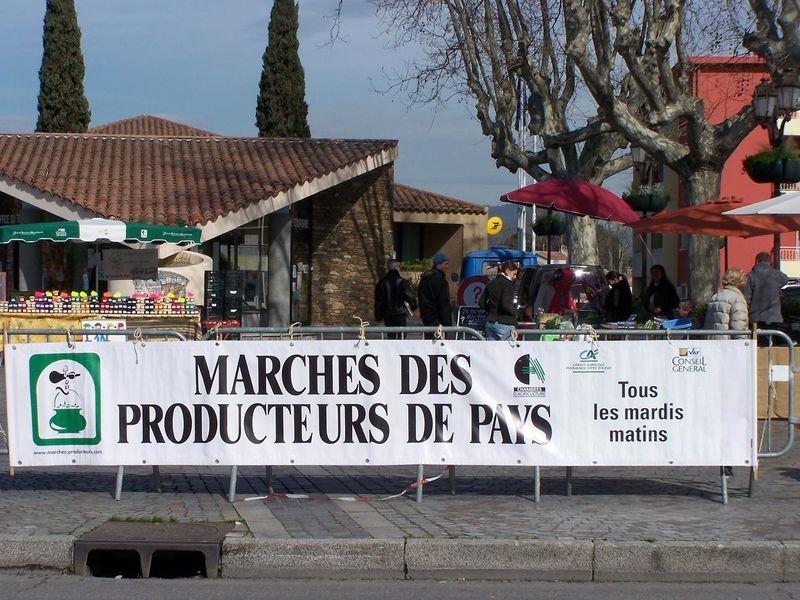 Marché des producteurs de pays à Le Pradet - 1
