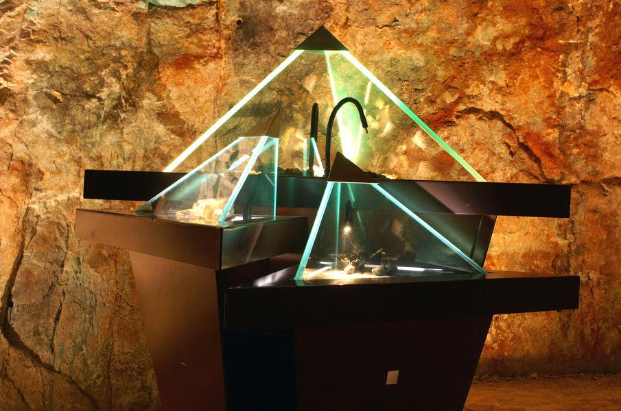 Visite musée de la mine de cap Garonne à Le Pradet - 1