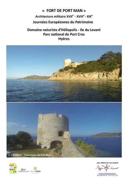 European Heritage Days – Le Levant island à Hyères - 2