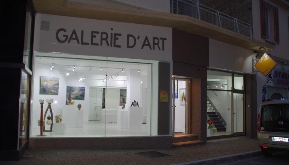 Exposition Marie Poscia à Hyères - 0