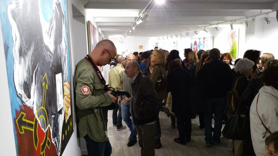 Exposition Marie Poscia à Hyères - 1