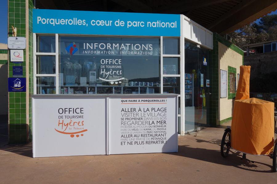Porquerolles tourist office à Hyères - 2