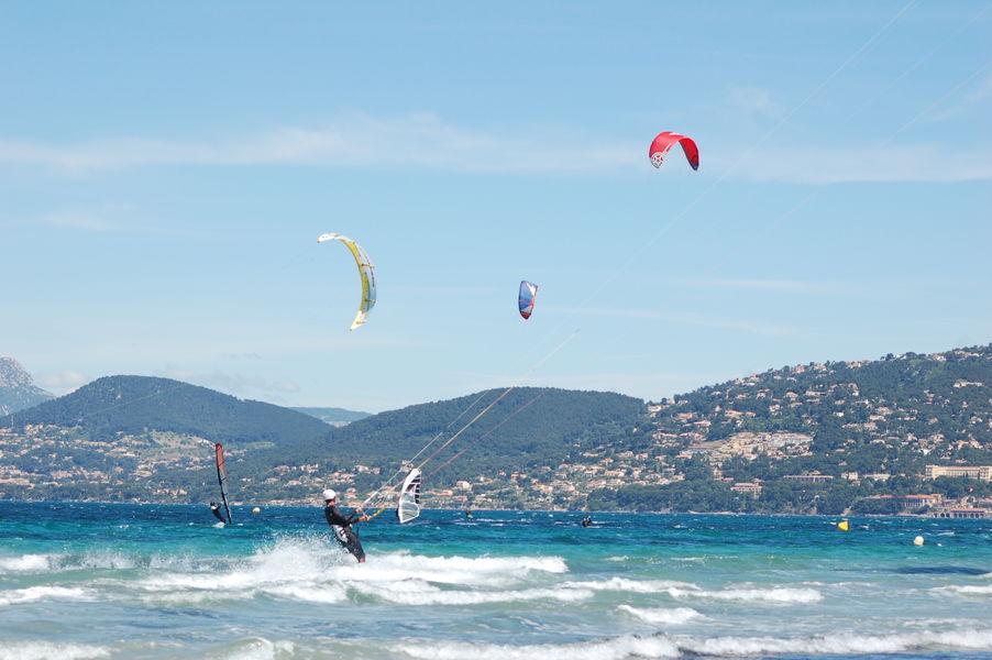 Kite-surf competition final à Hyères - 5