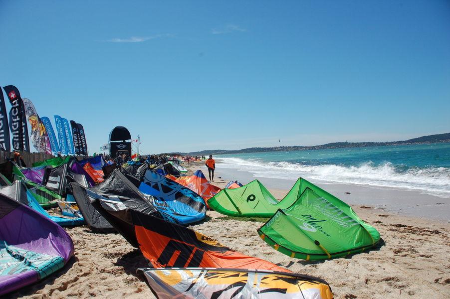 Kite-surf competition final à Hyères - 7