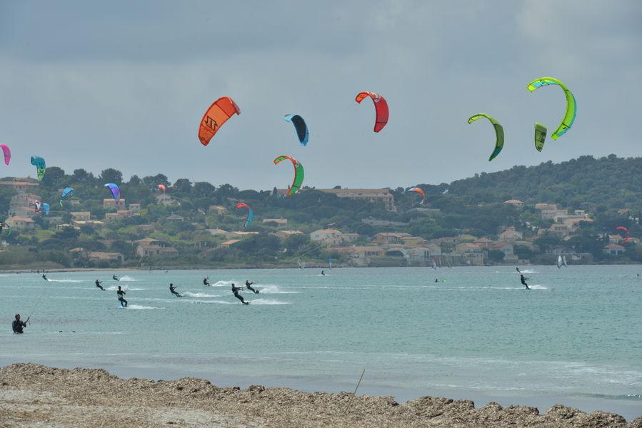 Kite-surf competition final à Hyères - 1