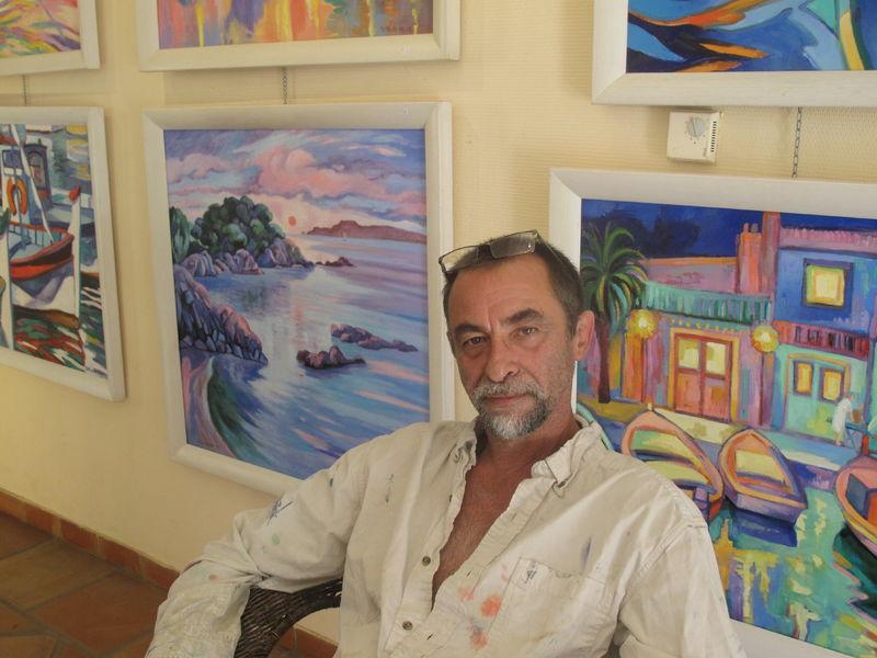 Exhibition of painting Michel Métaireau à Hyères - 0