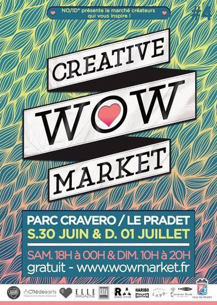 NO/ID* organise le WOW Creative Market – Garden Party à Le Pradet - 0