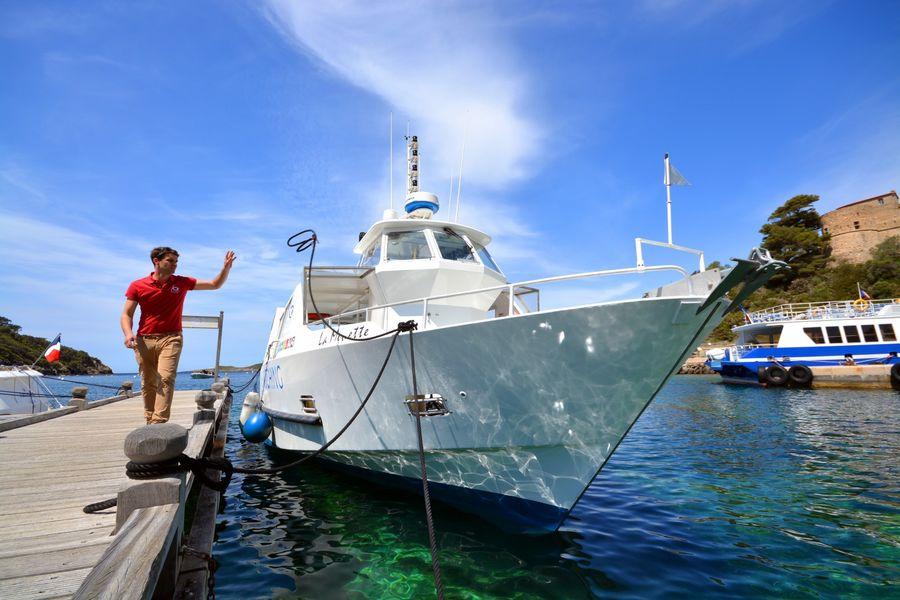 Le circuit des îles (Boat excursion) à Hyères - 1