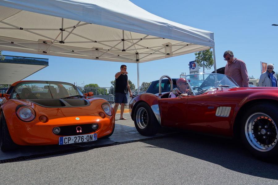Exhibition of vintage cars à Hyères - 5
